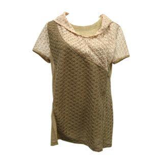 【Plombiere 女匠】設計款翻領配色上衣(4109001-61)