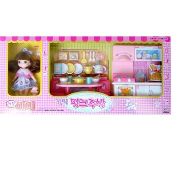 【MIMI系列】迷你MIMI粉紅廚房