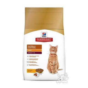 【Hill's】美國希爾思 成貓化毛 體重專用配方 減肥貓飼料 7磅 X 1包