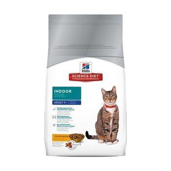 【Hill's】美國希爾思 室內熟齡貓專用配方 貓飼料 15.5磅 X 1包