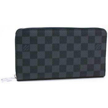 【LV】N63077 Damier 黑棋盤格紋謢照拉鍊長夾(預購)