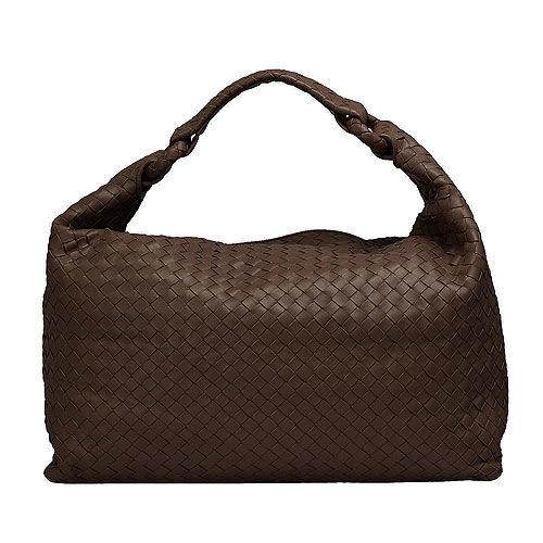 BOTTEGA VENETA經典Walnut編織小羊皮肩背包(棕色)172918-2515