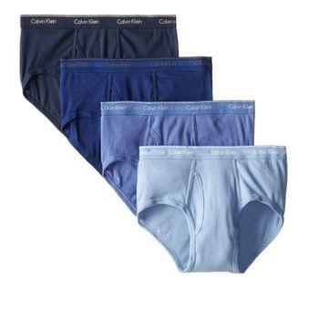 【CK】2014男時尚Hip藍色系列三角內著4件組(預購)