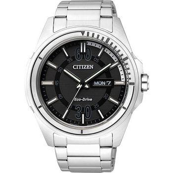CITIZEN Eco-Drive METAL 率性雅爵腕錶 AW0030-55E