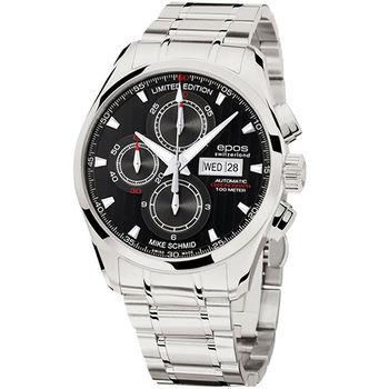 epos Mike Schmid全球限量計時機械腕錶3406.228.20.15.30