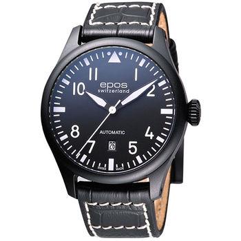 epos 黑夜計畫機械腕錶3397.132.25.55.24