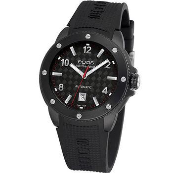 epos 黑色武士碳纖機械腕錶3389.132.25.55.55