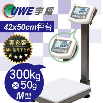 【UWE宇權電子秤】超大字幕計重台秤M型 ATM-F-300K