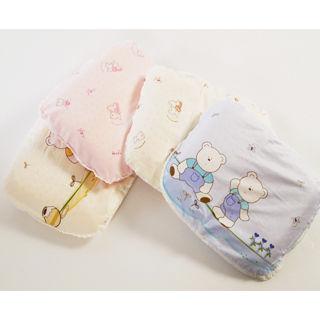 【美國 L.A. Baby】天然乳膠朔型枕(藍色/粉色/黃色/淡黃色)