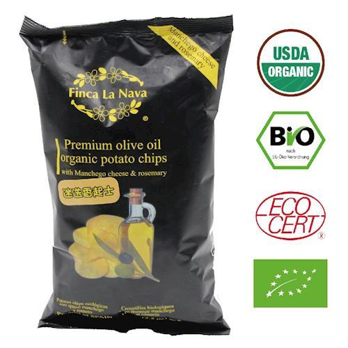 【芬拿】有機橄欖油洋芋片-迷迭香起士x2
