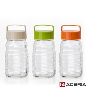 【ADERIA】日本進口玻璃梅酒瓶套組1200ml