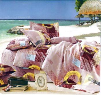 Luo mandi  雙人三件式加大床包組  華樣年華 6*6.2