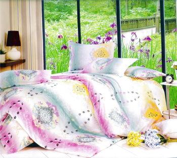 Luo mandi  雙人三件式加大床包組  生活暇意 6*6.2