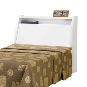 【日式量販】日系純白3.5尺單人床頭箱