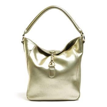 阿卡天使時尚質感精緻典雅兩用手提肩揹包-香檳金B571- GD