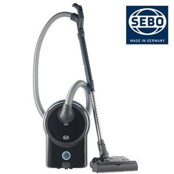 【德國SEBO】豪邸精品超大容量吸塵器AIRBELT D4 PREMIUM(黑)