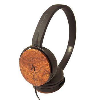 hoomia U3Wood 紅花梨原木經典耳罩式耳機