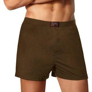 NUKLEUS國際認證Oeko-Tex 100有機棉時尚男性Borneo Boxer R舒適平口內褲