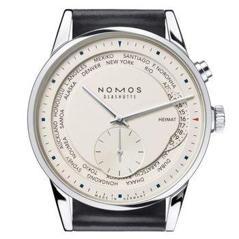 NOMOS 805 Zürich Weltzeitg 世紀時區腕錶-39mm