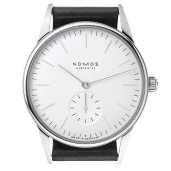 NOMOS Orion Weiss 306 小秒針手上鍊腕錶-白/35mm