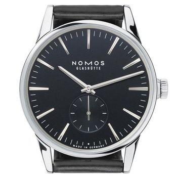 NOMOS Zurich Anthrazit 803 小秒針腕錶-黑/39.7mm