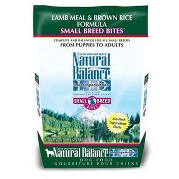 【Natural Balance】美國NB 低敏系列 羊肉糙米小顆粒 - 全犬 12磅 x 1包