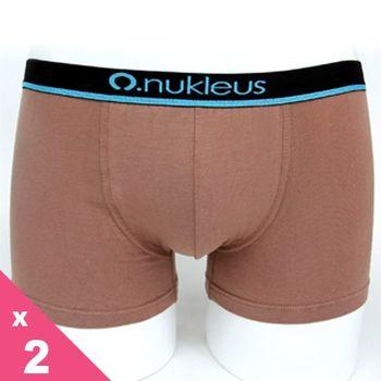 [Nukleus]有機棉5~12歲男兒童小蜻蜓平口四角內褲(2件) (淺綠Green/淺棕Brown)  歐洲信心紡織品Oeko-Tex Standard 100認證