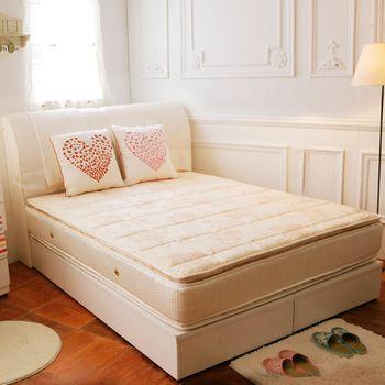 TOTOMI 透氣抗菌正四線獨立筒5尺雙人床墊