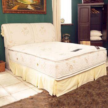 TOTOMI 飯店用正四線舒柔蜂巢式獨立筒5尺雙人床墊