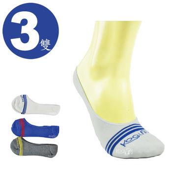 旅行家koolfree 防黴排汗隱形襪-條紋*3雙