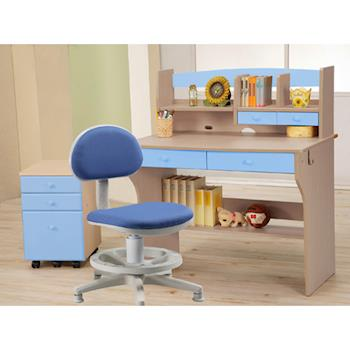 【C&B】快樂天才學童書桌椅三件組合