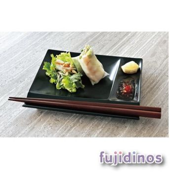 【美濃燒】白磁調味皿小餐盤四件組-黑色
