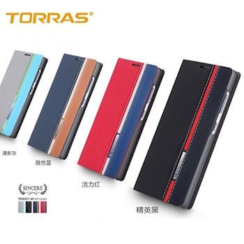 【TORRAS圖拉斯】APPLE iPad mini / mini2 信系列 牛仔布 立架皮套 韓風皮套(送保貼)