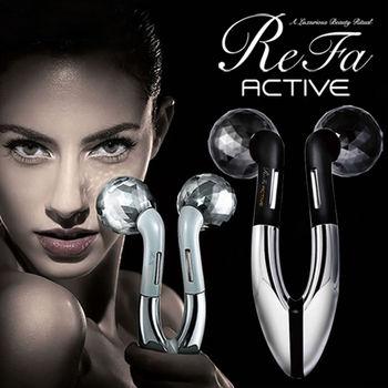 日本MTG ReFa ACTIVE 白金美容微電流滾輪按摩器