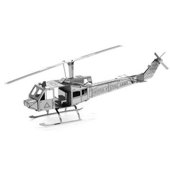 【Metallic nano puzzle 金屬拼圖】TMN-09 UH-1休伊直升機