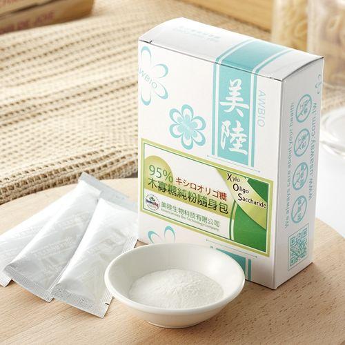 美陸生技AWBIO-95%木寡糖純粉 益生菌 幫助維持消化道機能【30包/盒】