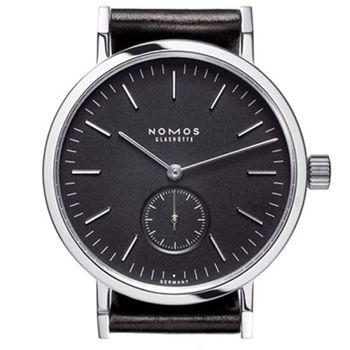 NOMOS 506 Tangente Sport 手上鍊小秒針腕錶-黑
