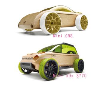 AUTOMOBLOX 德國原木變形車 mini C9S+X9X