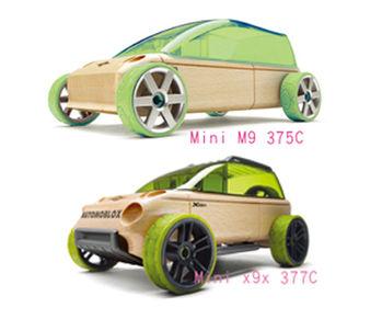 AUTOMOBLOX 德國原木變形車 mini M9+X9X