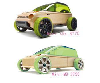 AUTOMOBLOX 德國原木變形車 mini  X9X+M9