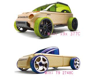 AUTOMOBLOX 德國原木變形車 mini  X9X+T9
