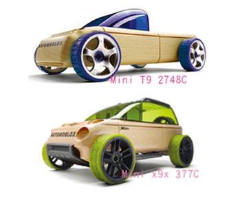 AUTOMOBLOX 德國原木變形車 mini  T9+X9X