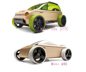 AUTOMOBLOX 德國原木變形車 mini  X9X+A9S