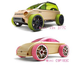 AUTOMOBLOX 德國原木變形車 mini  X9X+C9P