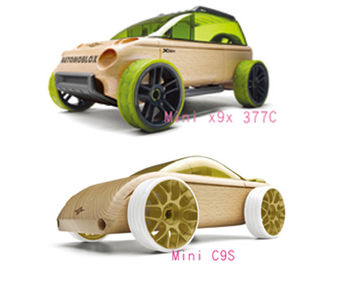 AUTOMOBLOX 德國原木變形車 mini  X9X+C9S