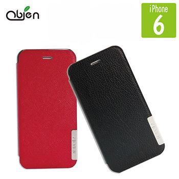 Obien iPhone 6 真皮手機側翻式皮套 (4.7吋)