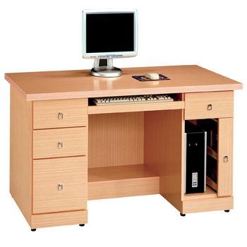 【時尚屋】[5U]西雅圖白橡4.2尺電腦桌195-960