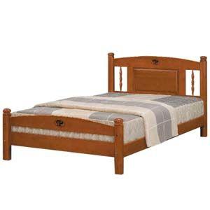 【日式量販】復古鄉村風3.5尺實木單人床架