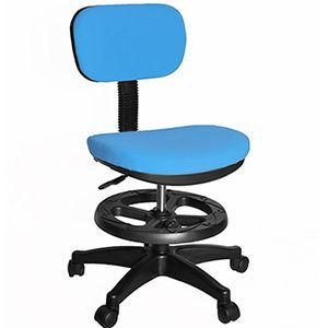 【凱堡】3M防潑水兒童椅/電腦椅(附腳踏圈)-固定墊
