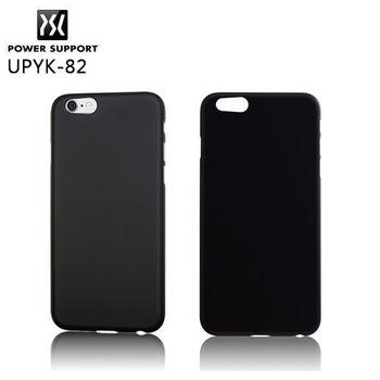 POWER SUPPORT iPhone 6 Plus Air Jacket 保護殼-純黑殼 UPYK-82